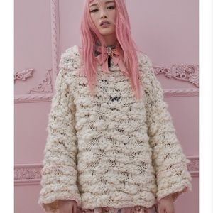 For Love and Lemons   Cloudy Day Pullover